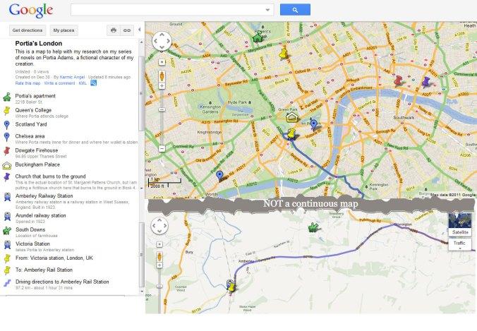 Screen cap modification of a Google Map
