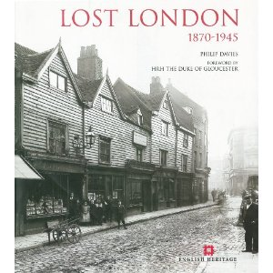 "Cover of ""Lost London"" by Philip Davies"