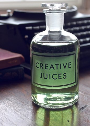 Creative Juices: a finite resource