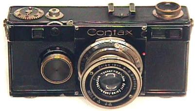 Zeiss Contax I Rangefinder 1932-1936