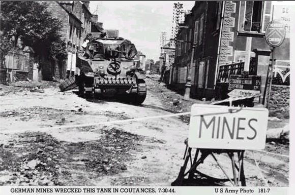 Landmines after World War I