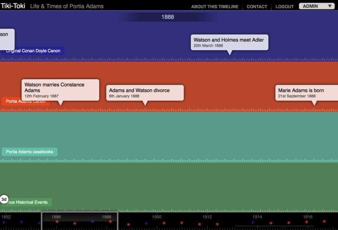 A new Timeline using Tiki-Toki