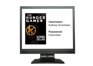 Ah.. but what would Peeta use as his password? (I'm guessing Katniss)