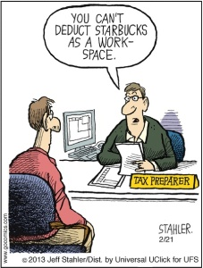 Comic by Jeff Stahler