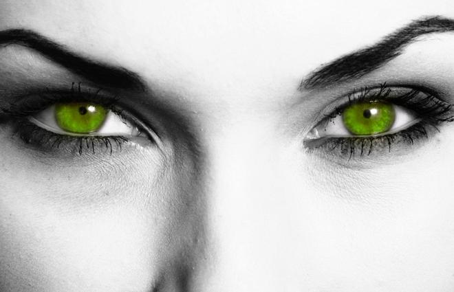 Portia's green-eyed lady
