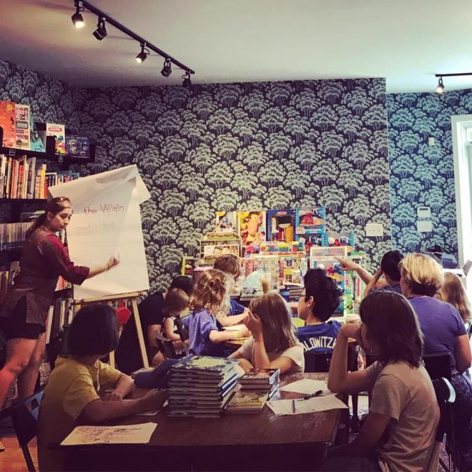 Mystery Workshop at Queen Books